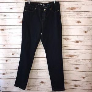 Inc Denim Blue Skinny Jeans Size 14